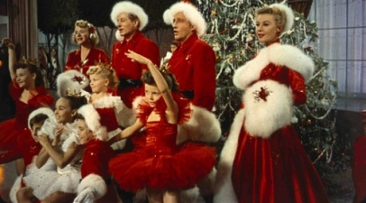White Christmas, with Bing Crosby and Danny Kaye