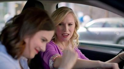 "Still from Volkswagen ""Pinch Me"" video ad"