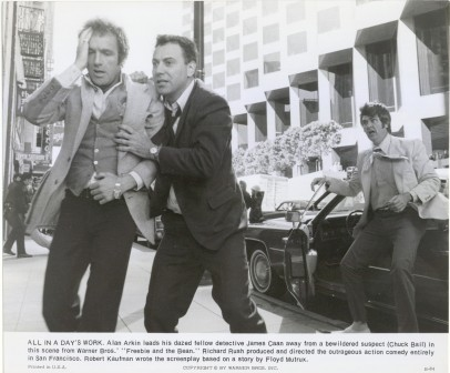 1974 Freebie and The Bean Alan Arkin James Caan Chuck Bail