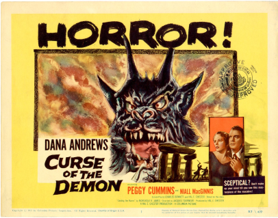Curse of the Demon lobby card