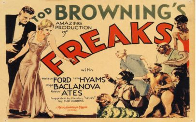 Tod Browning Freaks lobbycard